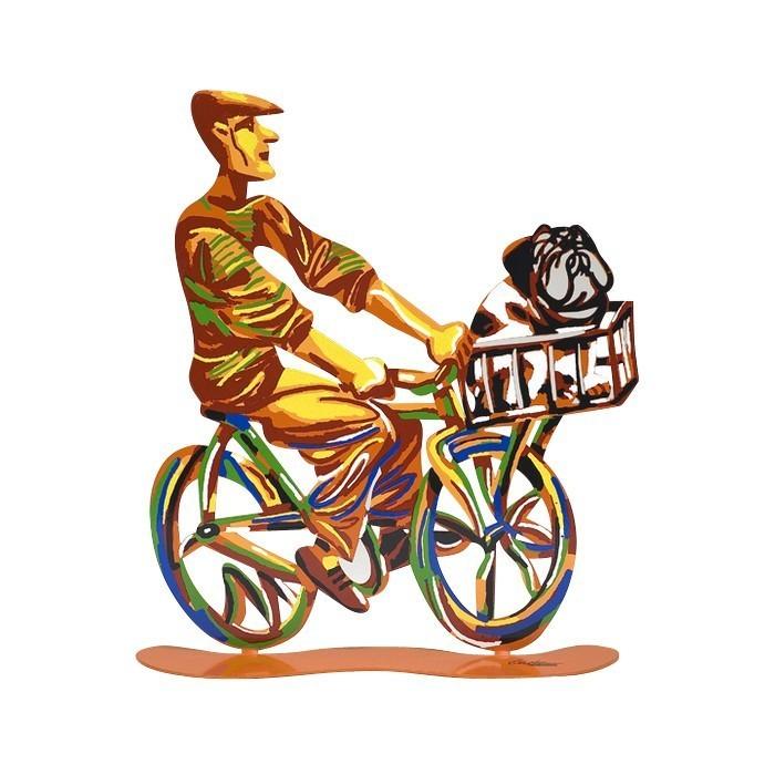 David Gerstein Ride Country Rider Sculpture