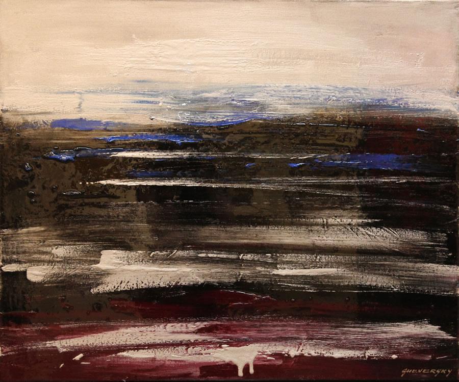 Alexander Sheversky The Ocean Original Oil & resin 30x36
