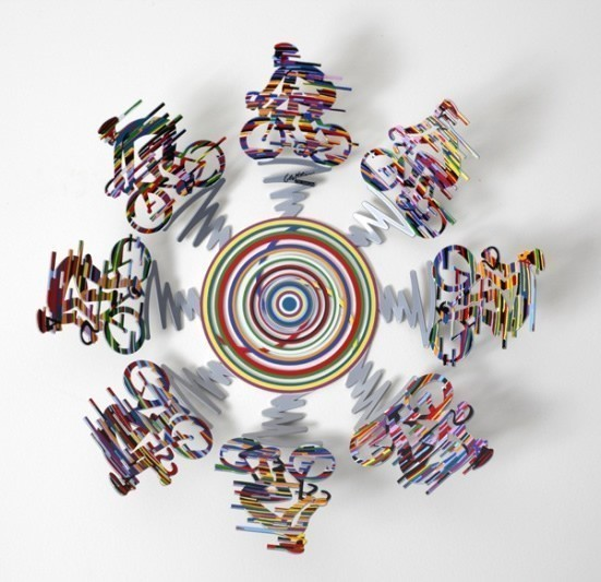 David Gerstein Bowl Cycle Small Sculpture 14 Inches