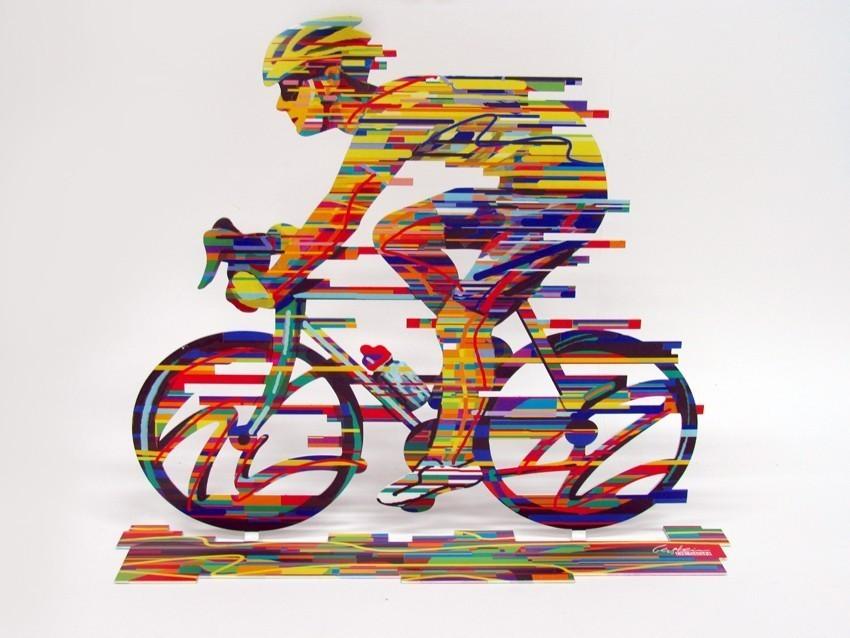David Gerstein Ride Champion Sculpture 14x17