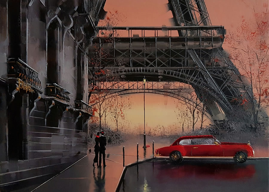 Kamiar+Gajoum Perfect View III Original Oil 15X18