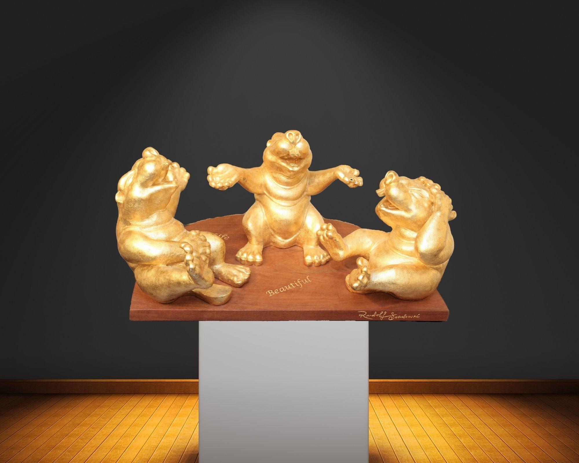 Rudolf Sokolovski Life Is Beautiful Sculpture