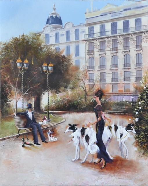 Contemporary Canadian Painter Kamiar Gajoum Place Mozart