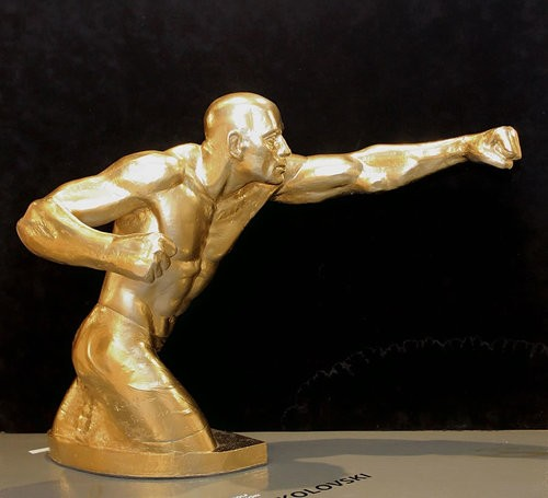 Rudolf Sokolovski The Punch( George St Pieerre) Original Sculpture 23X30