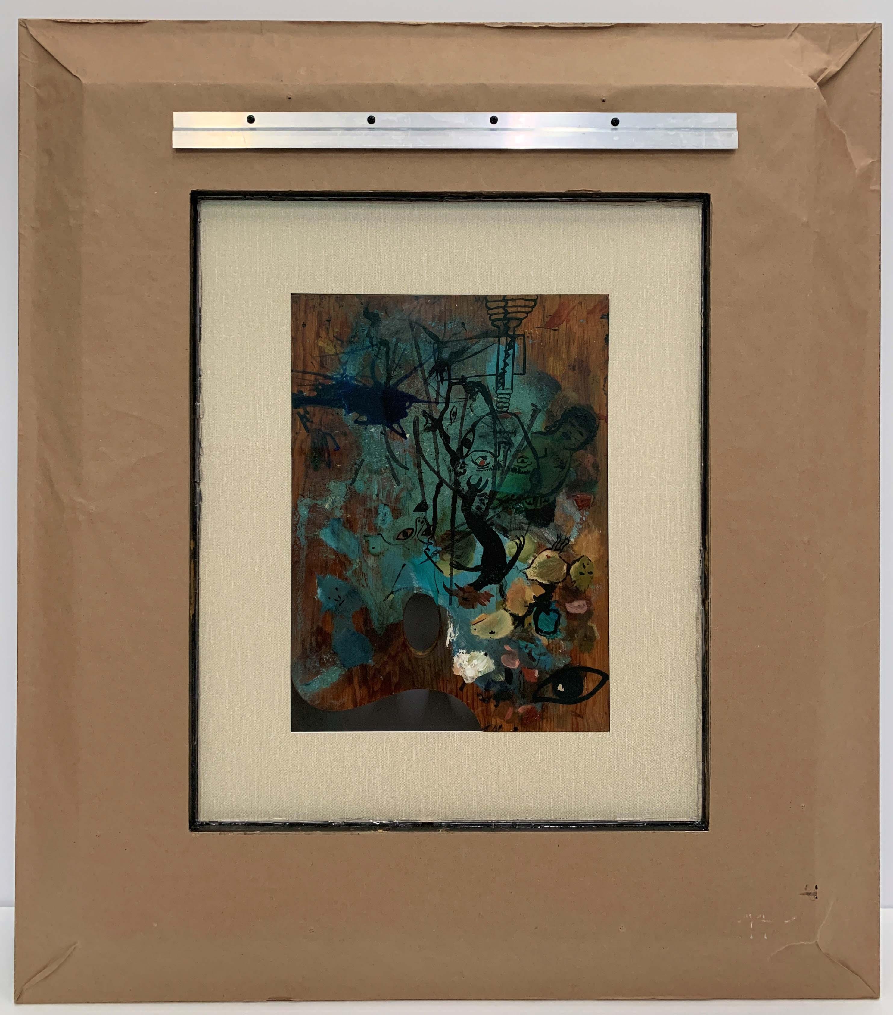 Frida Kahlo-The Pallet-Frame 42x34x5