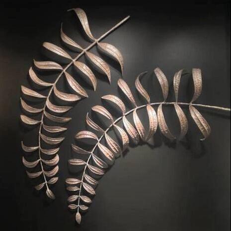 Silver fern-Original Mixed Media-72 inches by Prem