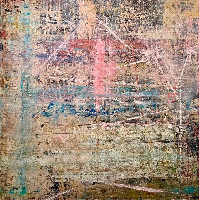 G Kim Hinkson Sailing Original Acrylic Painting 48x48