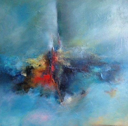 Farhnaz Samari-Beyond-Original Oil Painting 30x30