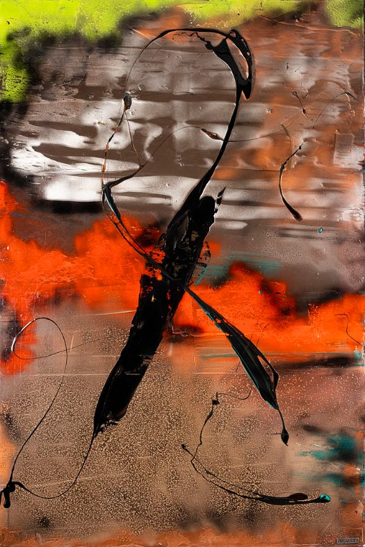 Lisabel_ YET TO COME 60X40_Mixed Media Abstract Painting