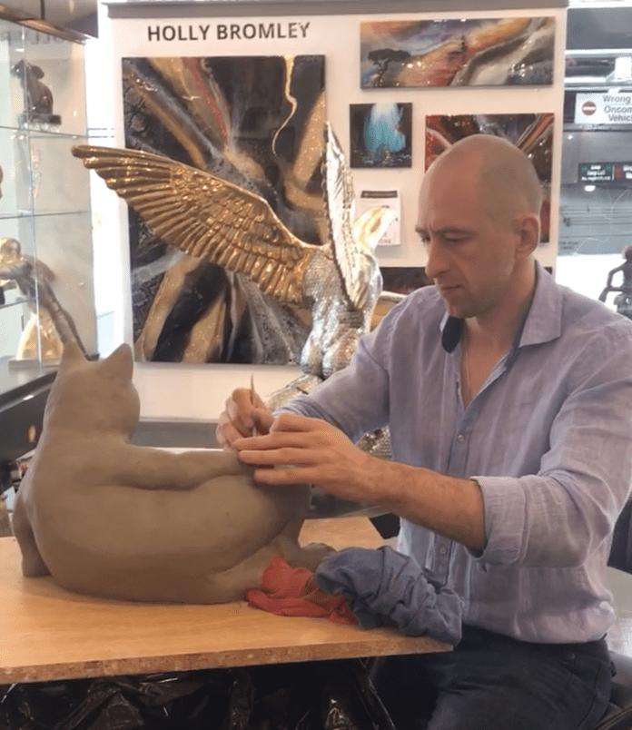 Events Rudolf Sokolovski Live Sculpture