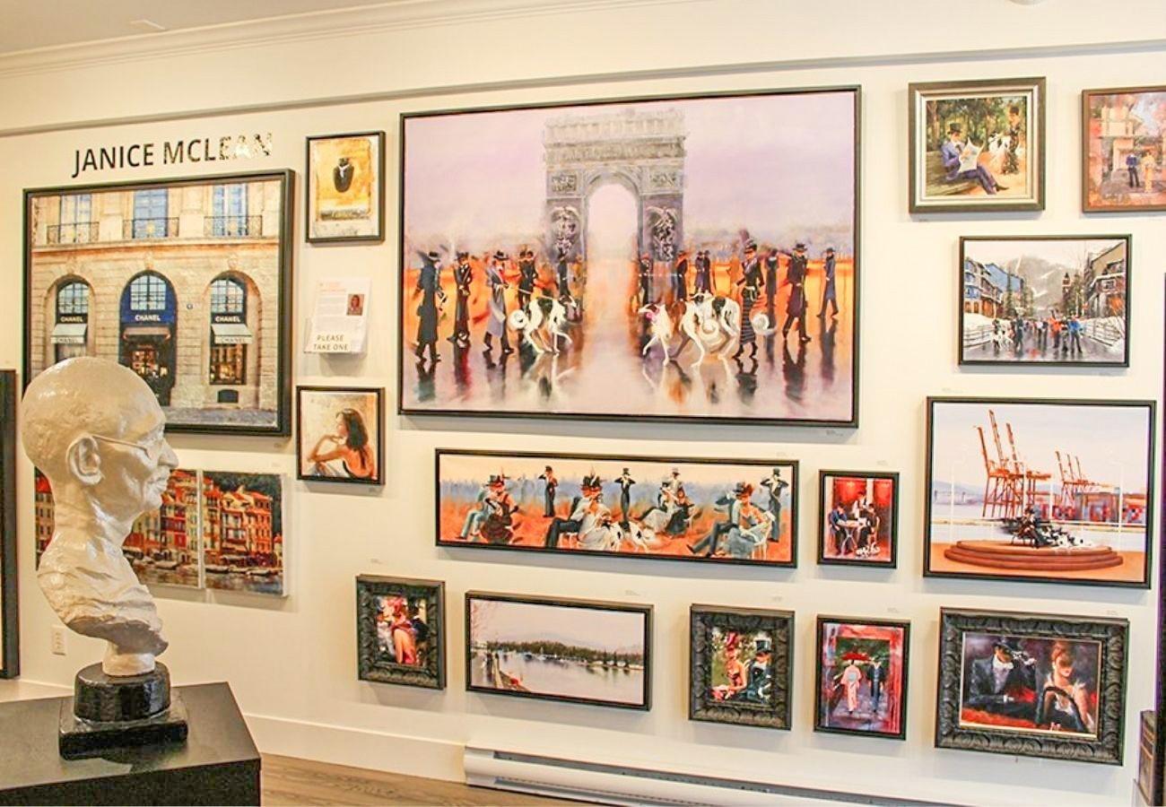 Vancouver Fine Art Gallery Kamiar Gajoum Exhibition