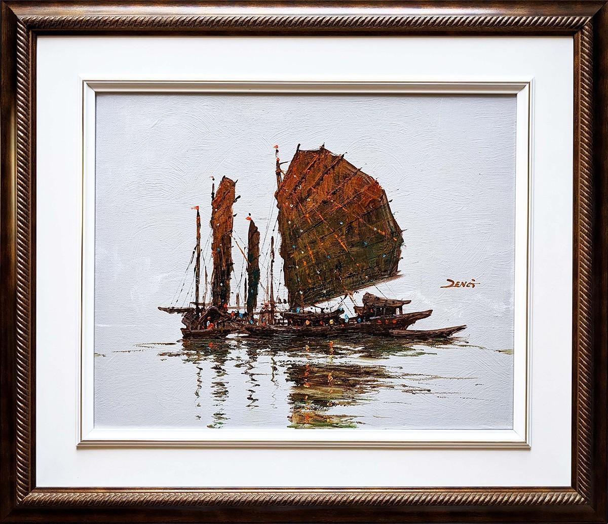 Sails - Original Oil-20x16-Uncle Zeng